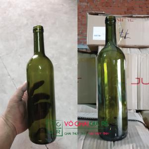 Chai thủy tinh đựng rượu vang 750ml