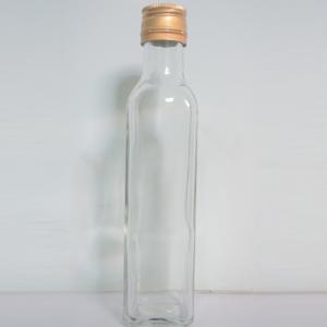 Chai thủy tinh vuông 250ml
