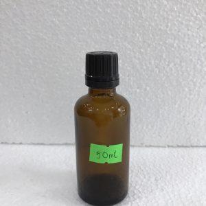 Chai tinh dầu 50ml màu nâu