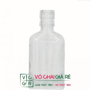 chai thủy tinh đựng dầu tràm 75ml