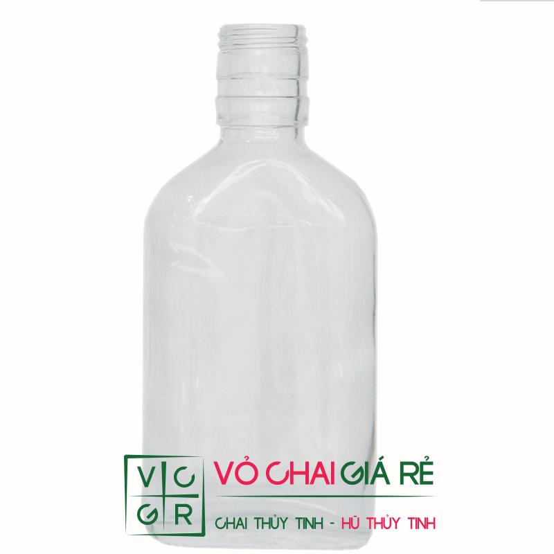 chai thủy tinh dầu tràm 175ml
